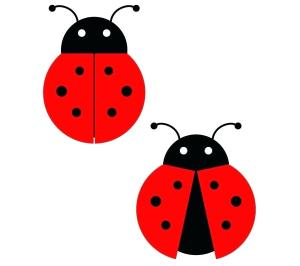 ladybug clipart lady simple bug coccinelle drawing dessin clip shape draw drawings ladybird cartoon miraculous wing silhouette gratuit contenu cliparts
