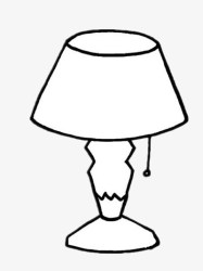 Lamp clipart black and white Lamp black and white Transparent FREE for download on WebStockReview 2020