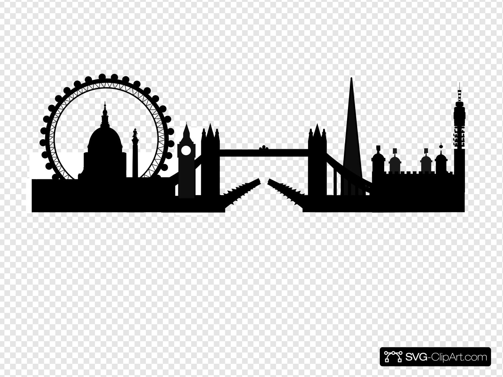 Skyline clipart skyline london, Skyline skyline london