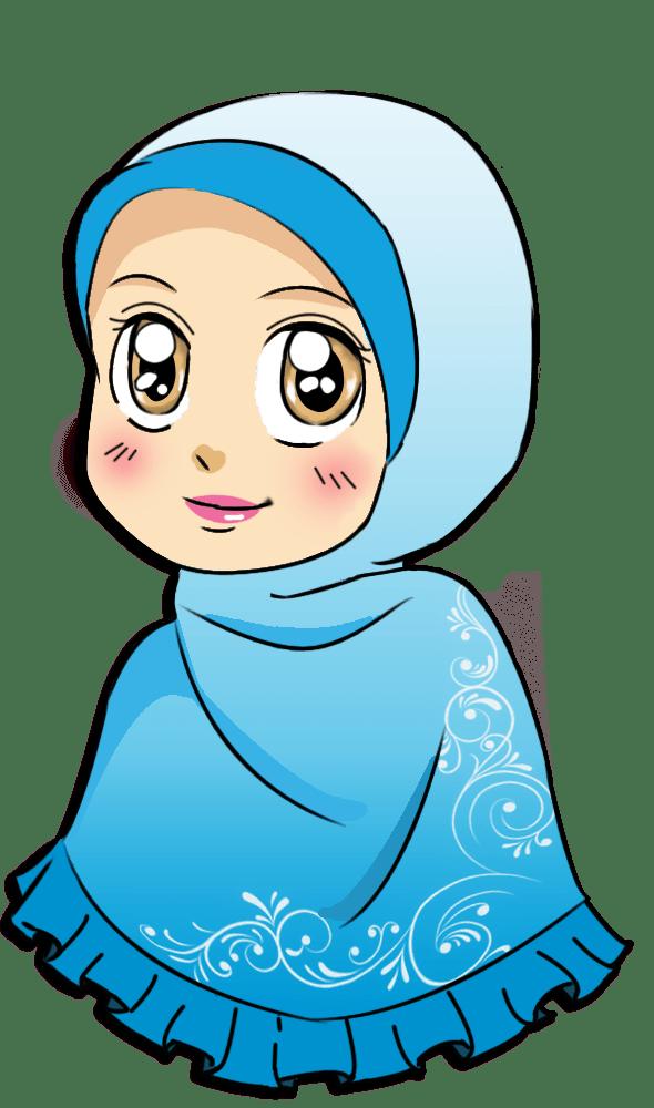Wanita Berhijab Png : wanita, berhijab, Animasi, Wanita, Berhijab, Cantik, Quotes