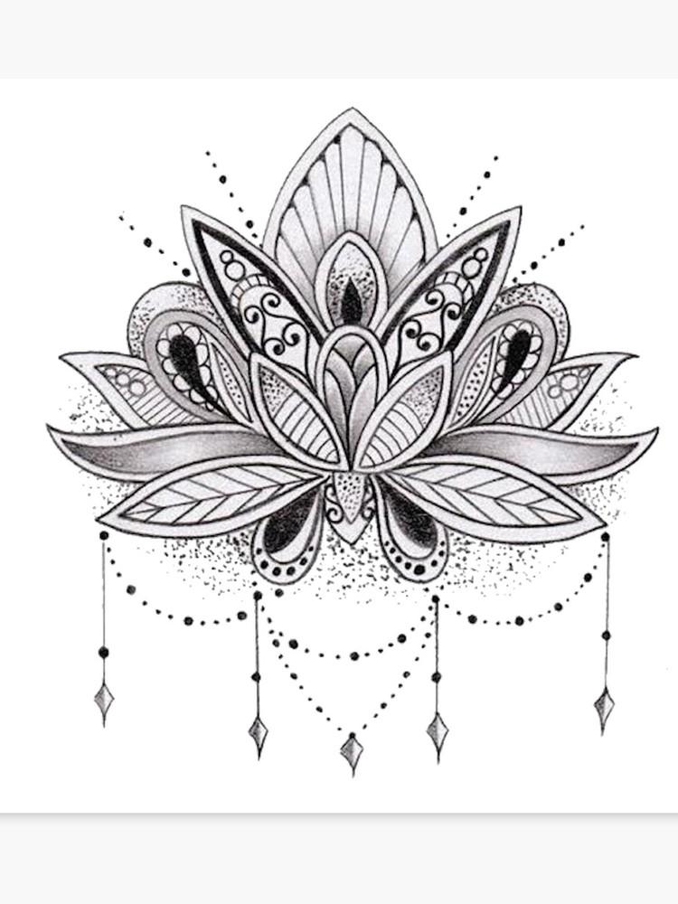 Mandala clipart lotus, Mandala lotus Transparent FREE for