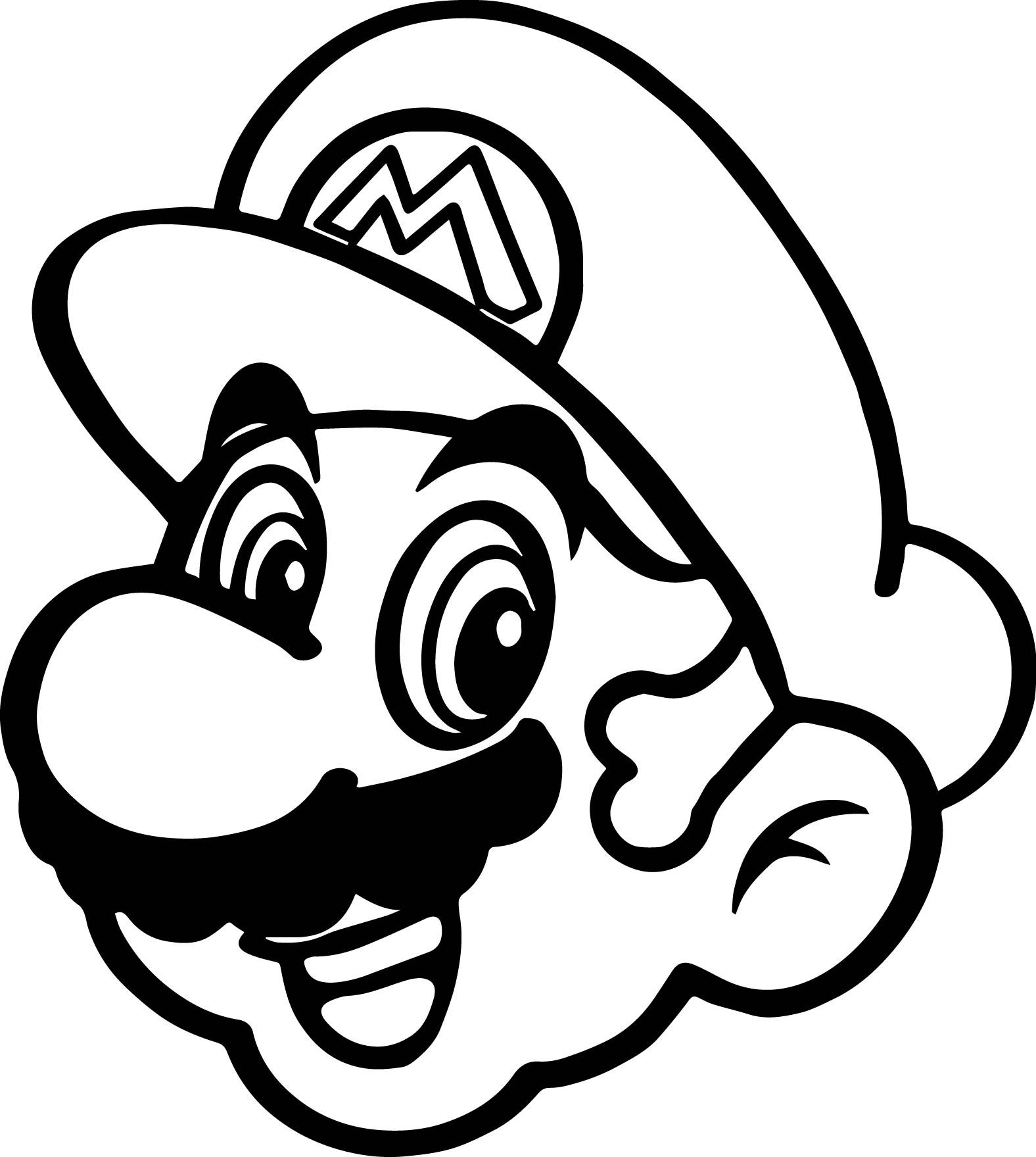 Mario clipart drawing, Mario drawing Transparent FREE for