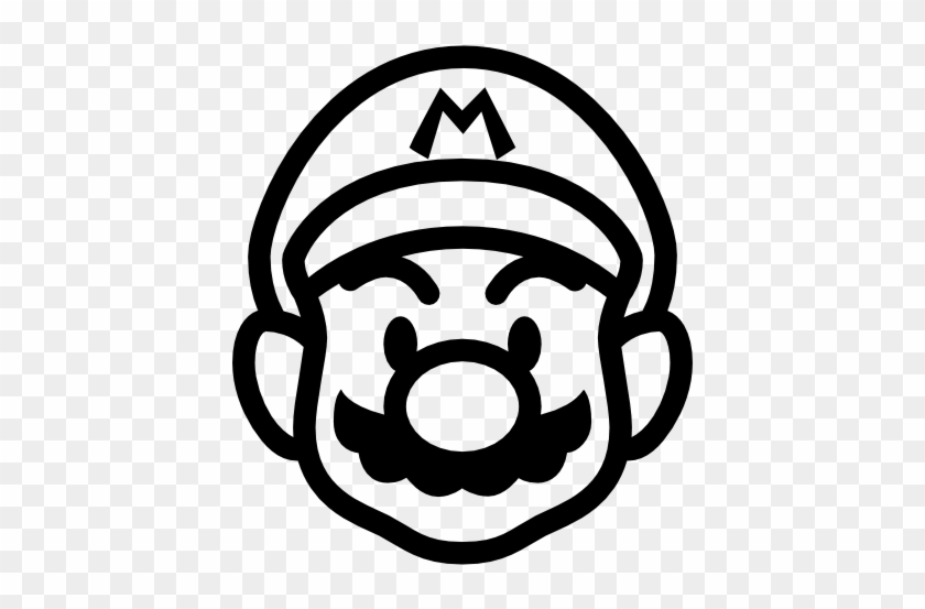Mario clipart outlines, Mario outlines Transparent FREE