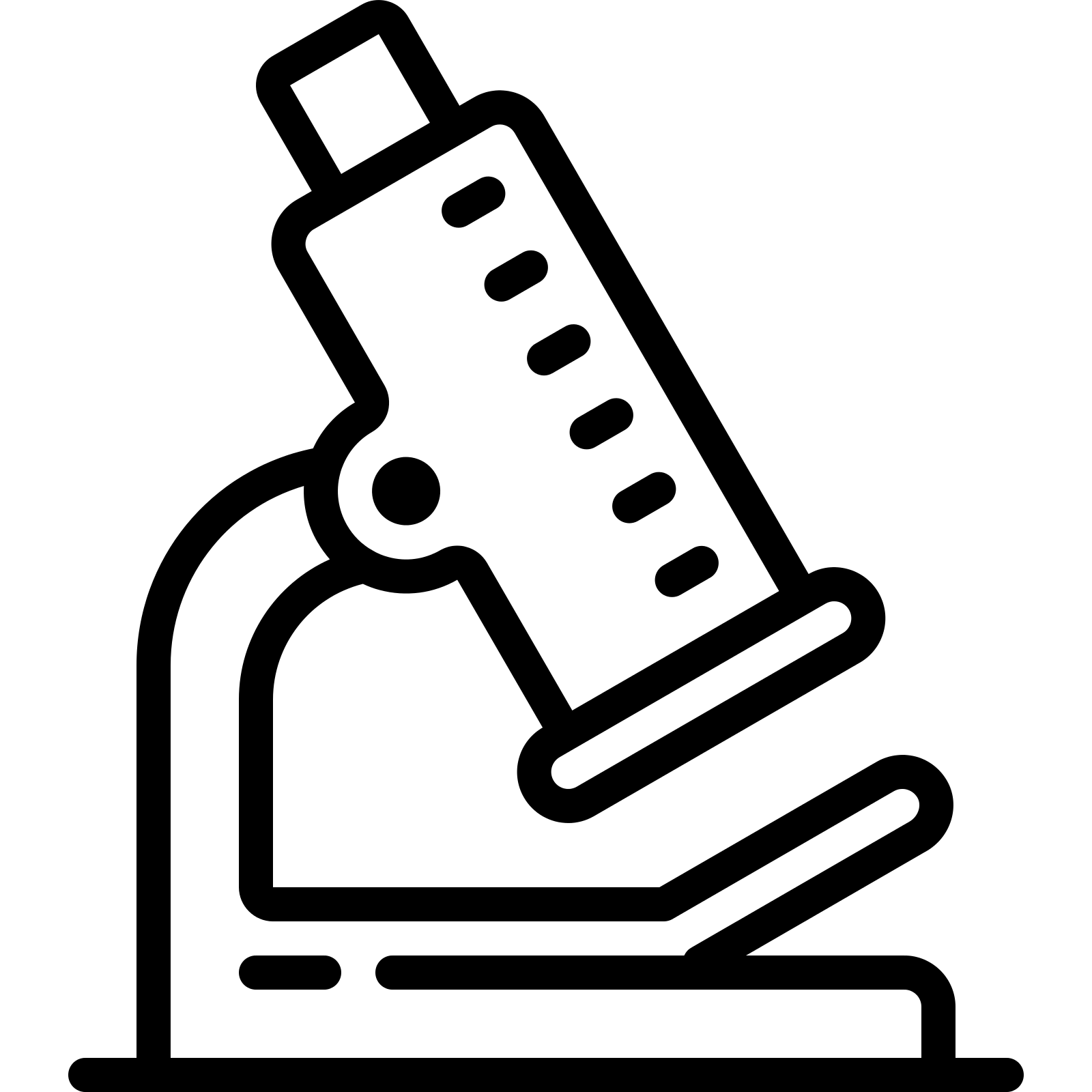 Microscope clipart science object, Microscope science