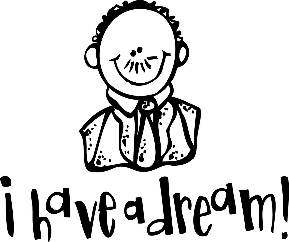 Mlk Clipart Head Mlk Head Transparent Free For Download
