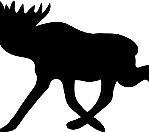 small resolution of moose clipart real