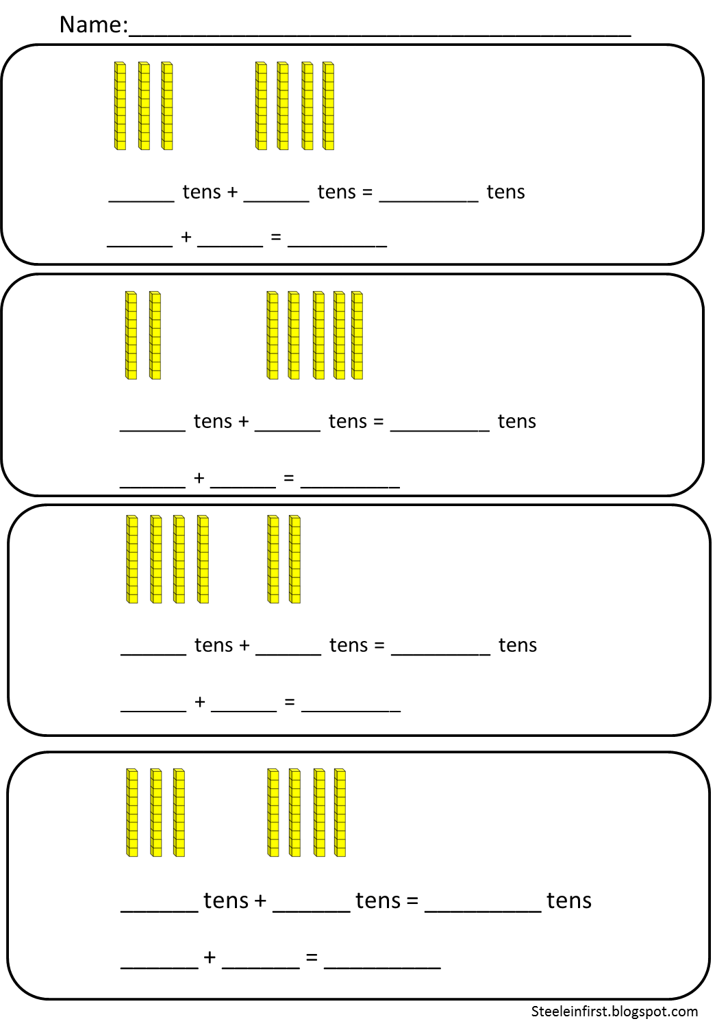 hight resolution of One clipart base ten