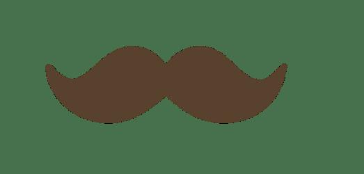 mustache brown cartoon moustache clipart transparent tips webstockreview deviantart feel desktop