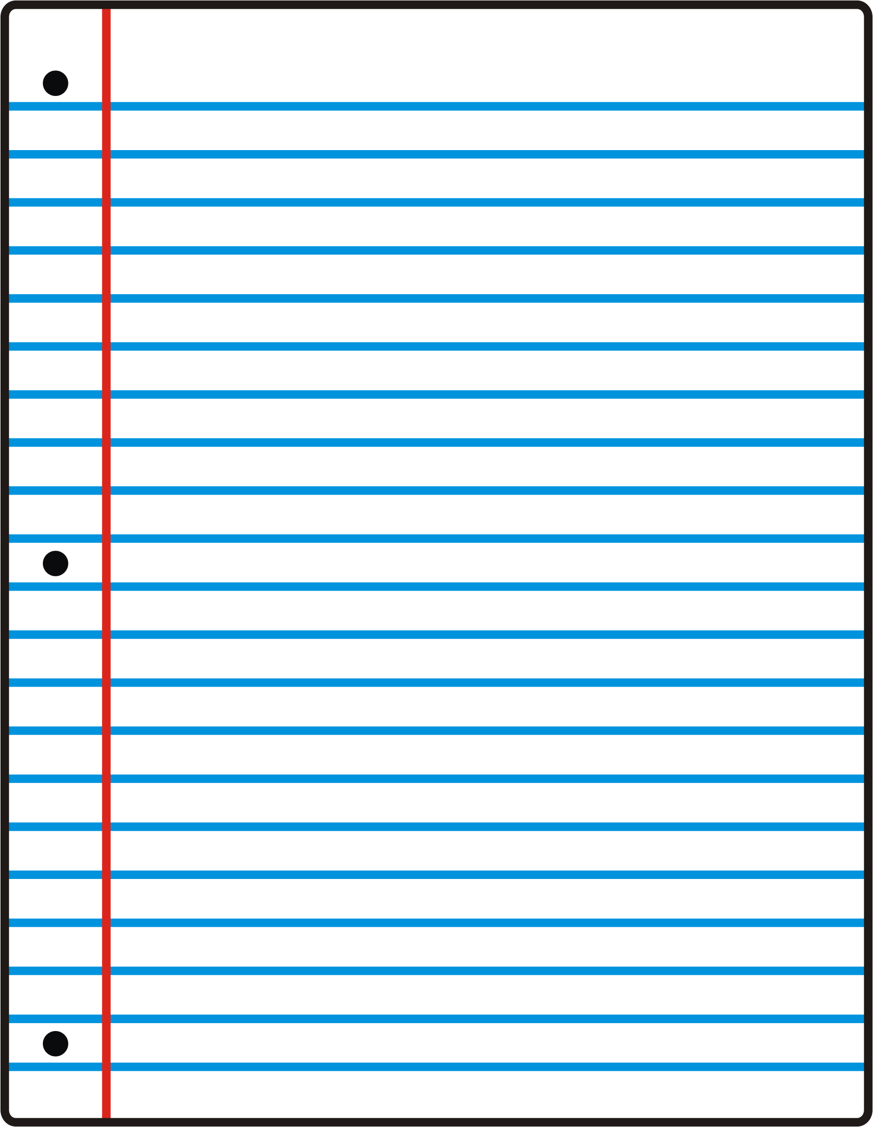 Lined Paper Transparent : lined, paper, transparent, Paper, Clipart, Lined, Paper,, Transparent, Download, WebStockReview
