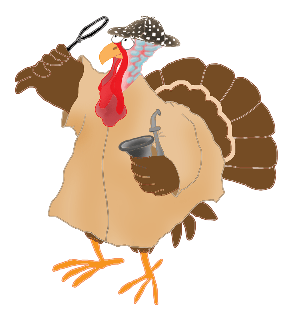 hight resolution of happy thanksgiving turkey running away murder mysteri october clipart pumpkin