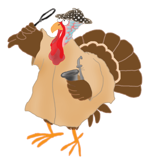 small resolution of happy thanksgiving turkey running away murder mysteri october clipart pumpkin