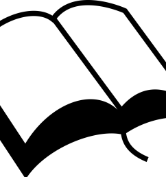 book clipart black and white [ 2400 x 1693 Pixel ]