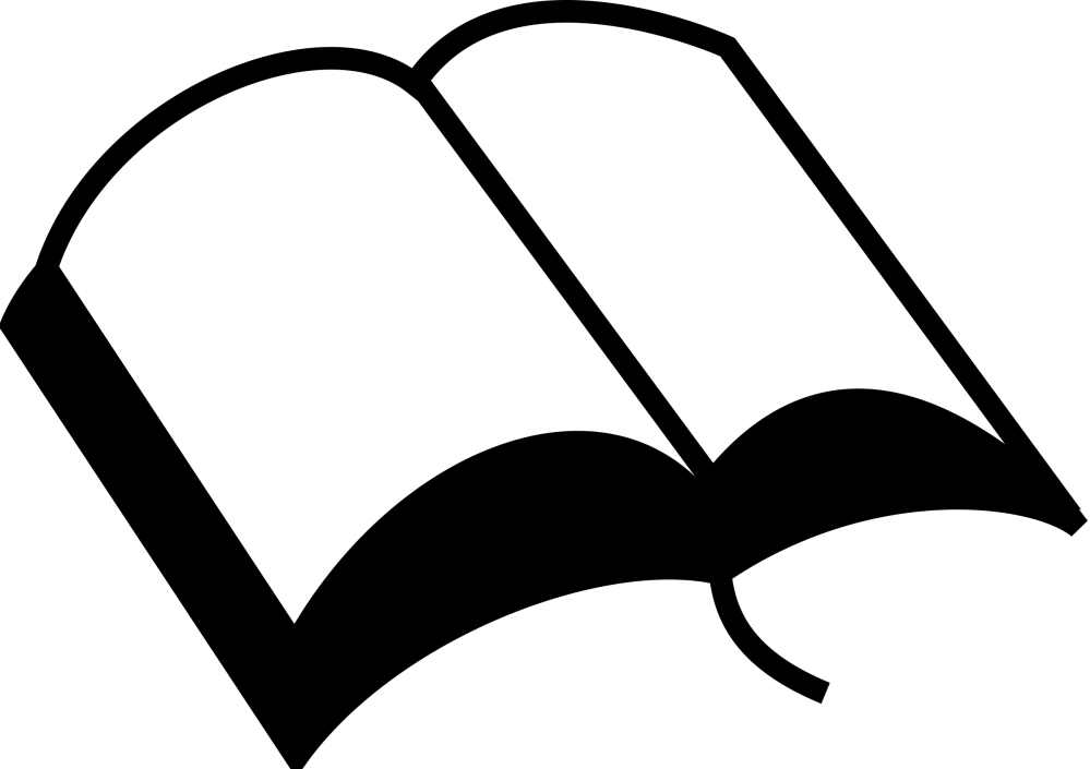 medium resolution of book clipart black and white