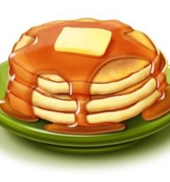 fresh design digital collection coloring pages detail pancakes clipart  [ 2400 x 1749 Pixel ]