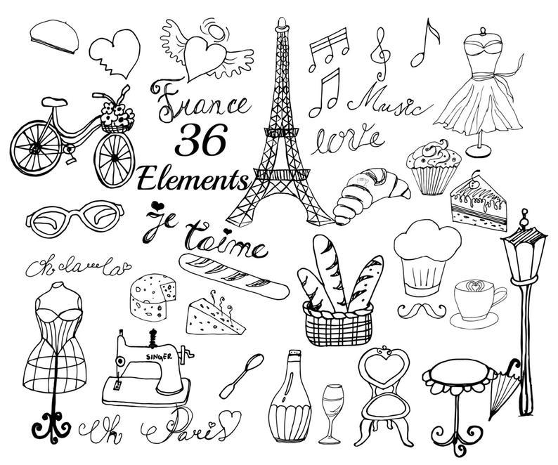 Paris clipart drawing, Paris drawing Transparent FREE for