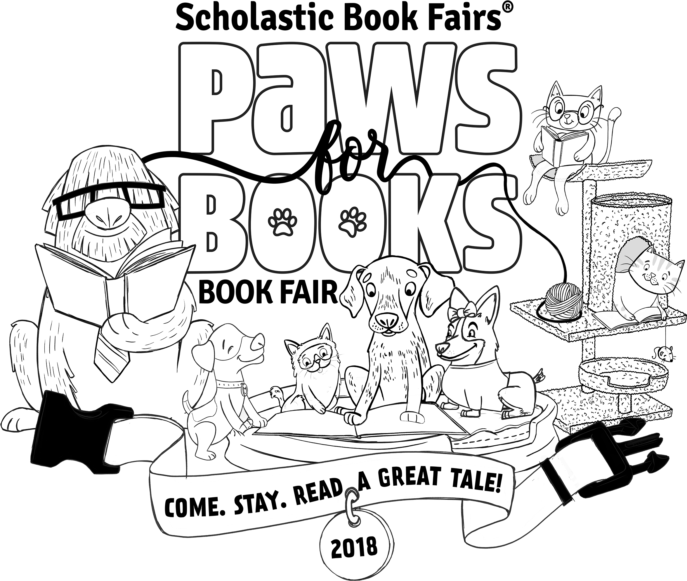 Paws clipart book clipart, Paws book Transparent FREE for