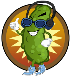 team twitter pickle clipart dancing [ 1280 x 1280 Pixel ]