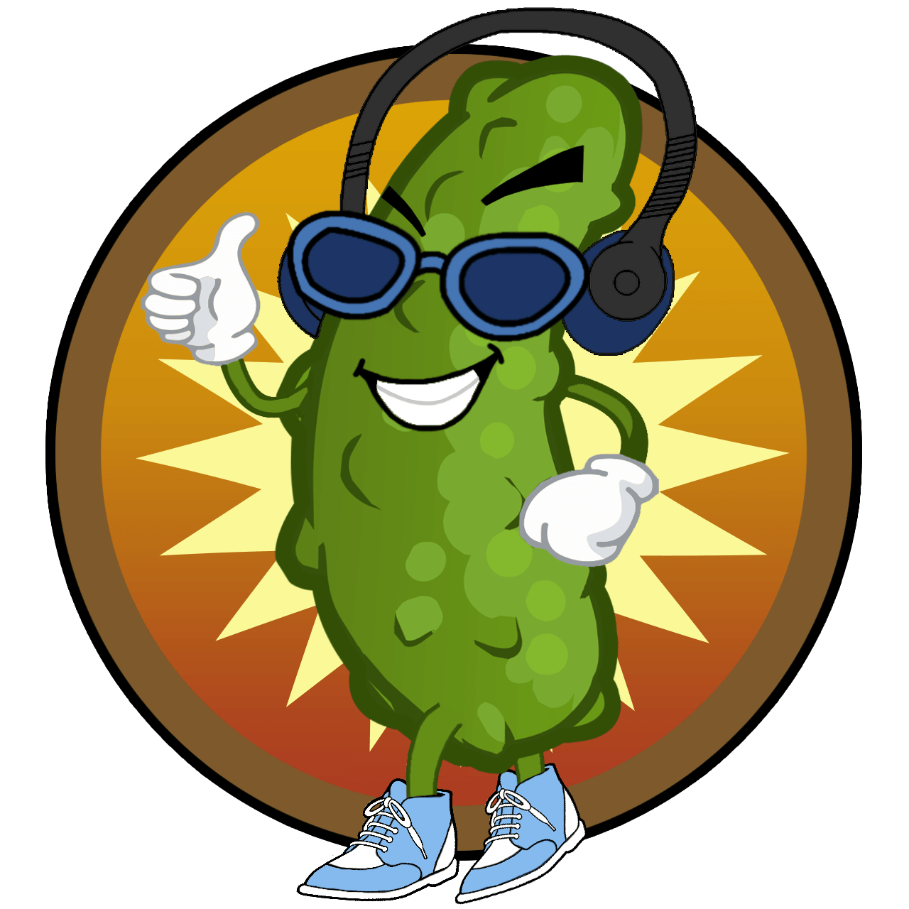 hight resolution of team twitter pickle clipart dancing