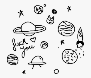 aesthetic drawing planets easy draw clipart planet transparent webstockreview