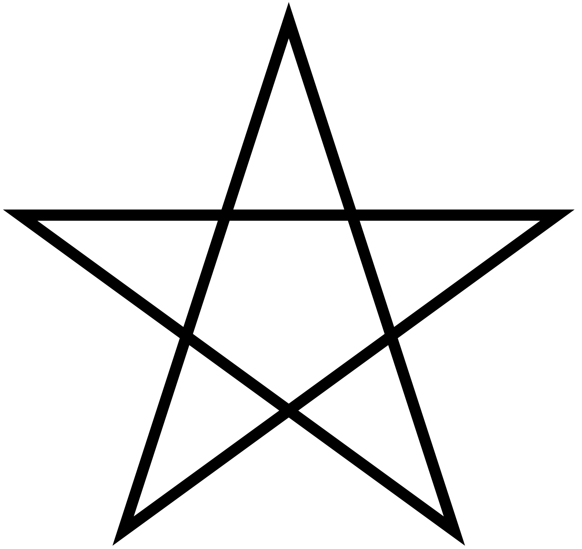 Pointing Clipart Double Star Pointing Double Star