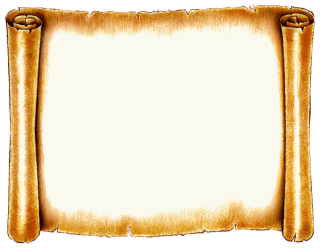 scroll frame clipart transparent backgrounds clip icons