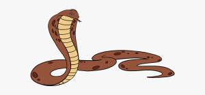 snake cobra clipart king drawing easy rattlesnake simple transparent pinclipart rattle clip webstockreview dog walking clipground