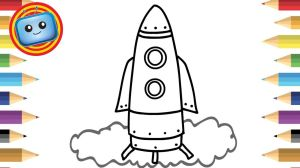 spaceship simple drawing easy draw colouring clipart drawings animation coloring games ship colour kid books painting latest webstockreview ever transparent