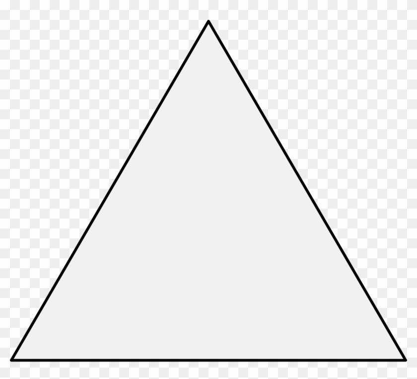Triangular clipart outlined, Triangular outlined