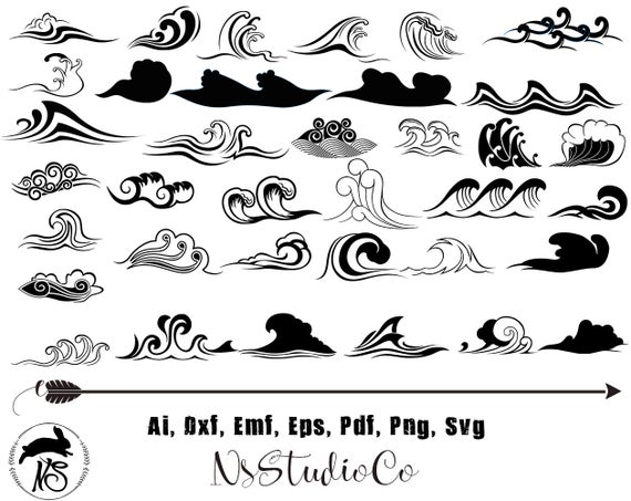 Waves clipart svg, Waves svg Transparent FREE for download