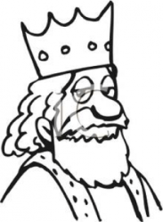 King clipart line Picture #2881524 king clipart line