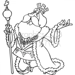 King clipart line Picture #1480825 king clipart line