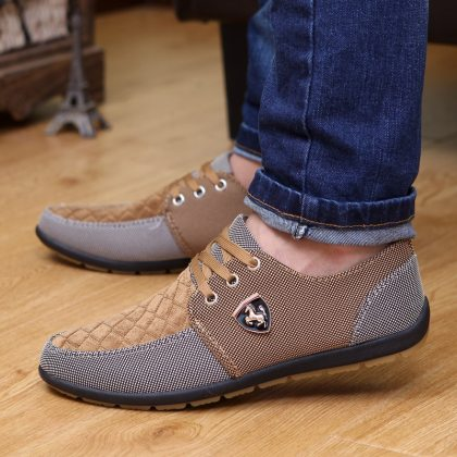 Men's Casual Style Canvas Shoes