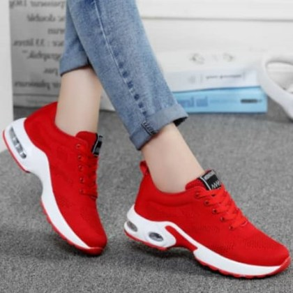 Unique Sport Red Female Sneakers