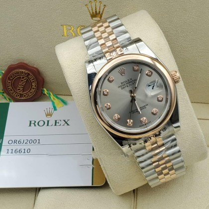 Quality Rolex Ouster Perpetual Date Just