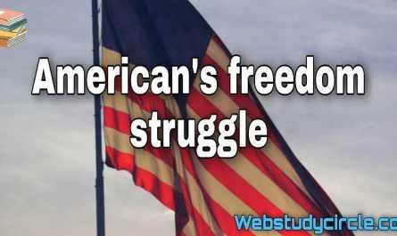 America's freedom struggle