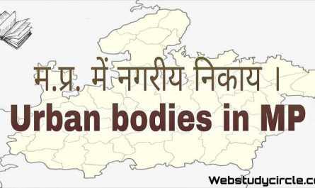 Urban bodies in MP