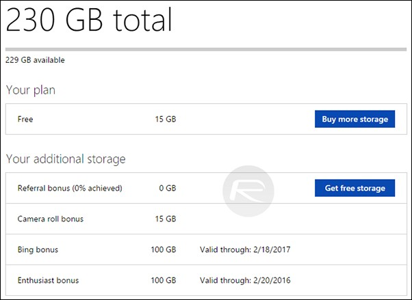 How to get 100 GB free one Drive Storage