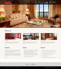 Interior Design Website Template Free Download | WebThemez
