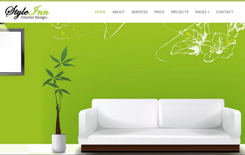 Interior Design Website Template Free Download WebThemez
