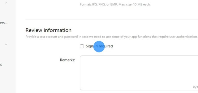 Wenn sich der Nutzer auf deiner Website anmelden muss, um die meisten Funktionen nutzen zu können, stelle den App-Prüfern einen Test-Account zur Verfügung.