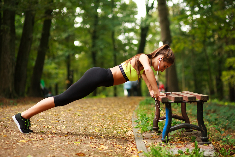 At-Home Workout The Park Bench Exercise