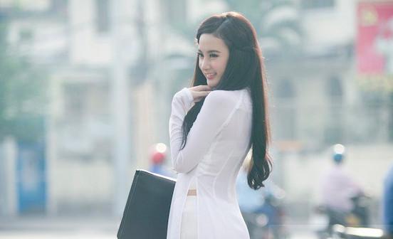 Cách trang điểm phù hợp với áo dài đẹp nhẹ nhàng, tự nhiên