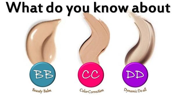 Sự khác nhau giữa BB cream và CC cream