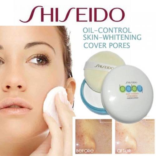 cong-dung-cua-phan-rom-Shiseido Baby Powder Pressed 50gr