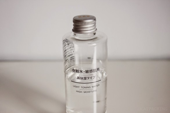 review muji light toner water light cua nhat ban