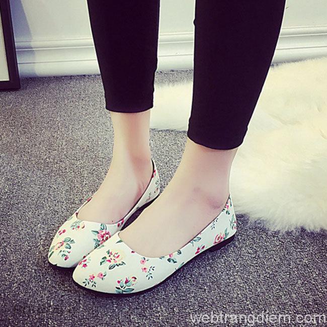 Giày búp bê là kiểu giày đẹp