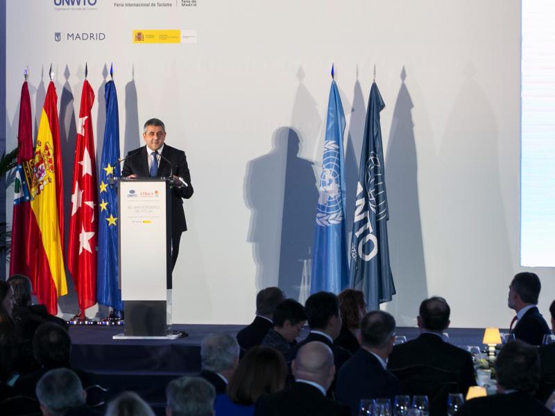 UNWTO Secretary-General addresses FITUR Gala Dinner