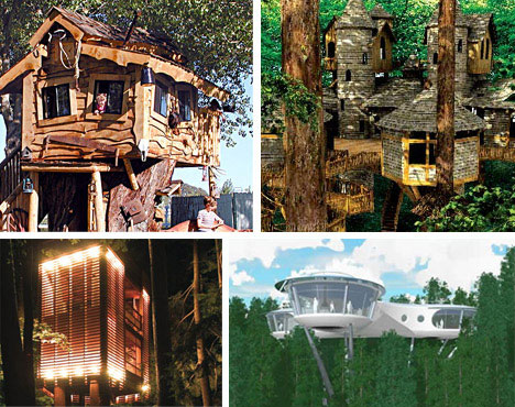 10 Amazing Creative Unique and Unusual Treehouse Designs