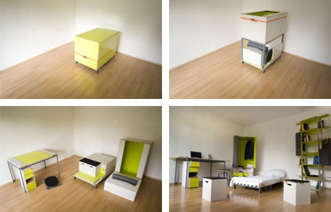 Room in a Box: 10 Pieces of Clever Transforming Furniture