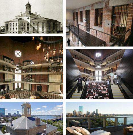 Jail Hotel Interior Design